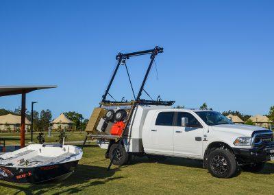 Dodge Ram Boat Loader