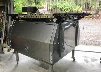 4x4 canopy with boat loader